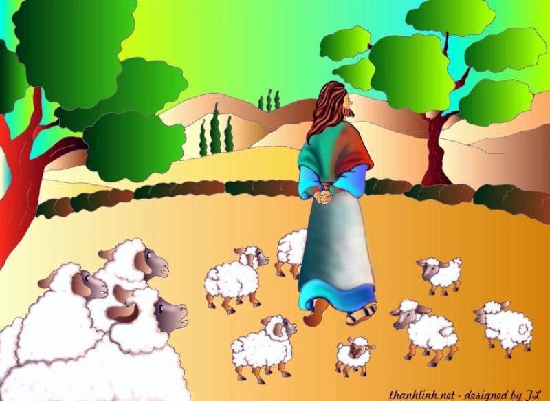 Thánh Kinh bằng hình CN 4 PS B. CN Chúa Chiên Lành, cầu cho ơn Thiên Triệu